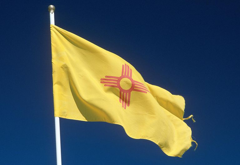 New Mexico flag - Fotosearch - GettyImages-124282606