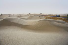 New HIghway along the Southern Silk Road to Khotan