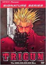 Trigun DVD Volume 1 - Image Courtesy of Geneon