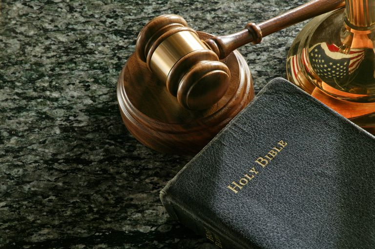 Gavel and Holy Bible