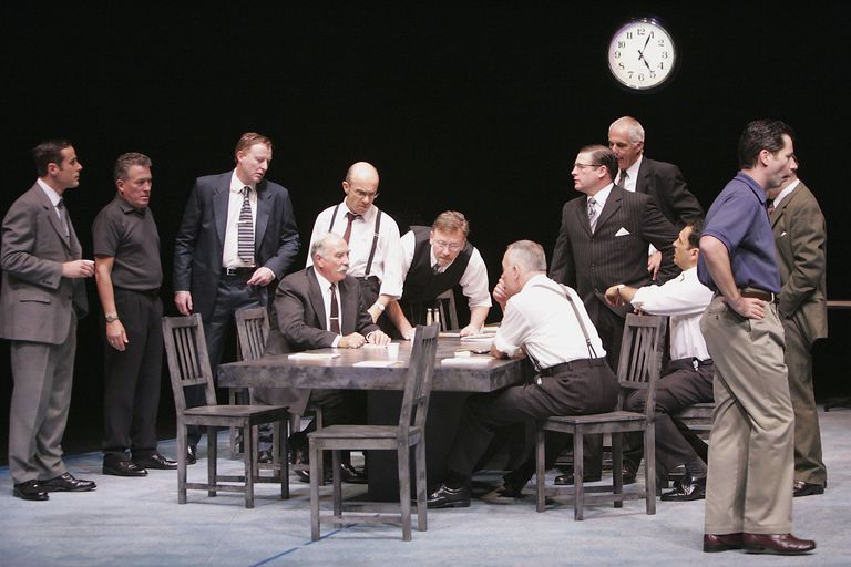 Stage production of 12 Angry Men
