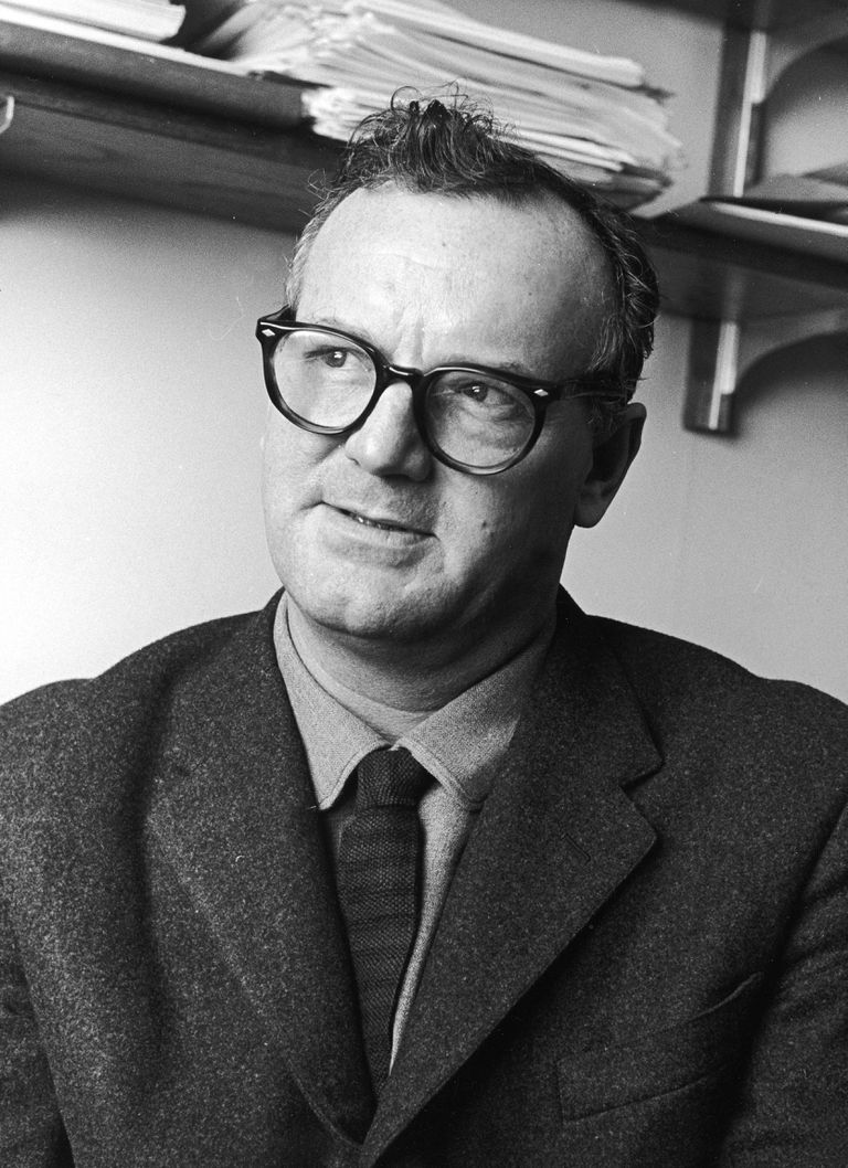 C. Wright Mills—sociologist, journalist, and intellectual.