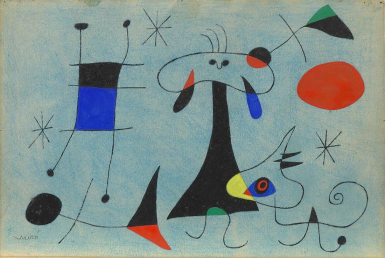 Life and Work of Joan Miró, Spanish Surrealist Painter