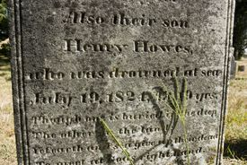 A tombstone rubbing, when done right, can be a great way to capture a beautiful gravestone inscription.