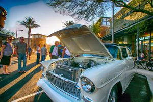 Valentine's Vintage Car Show