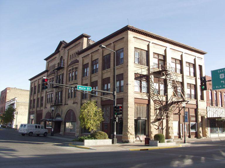 Downtown Crookston, MN