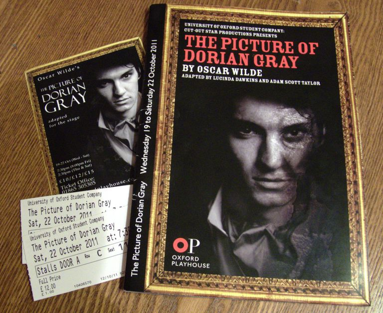 October 22nd, 2011 The Picture of Dorian Gray