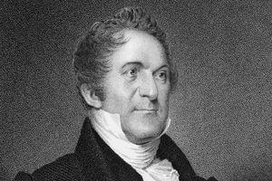 Engraved portrait of William Wirt