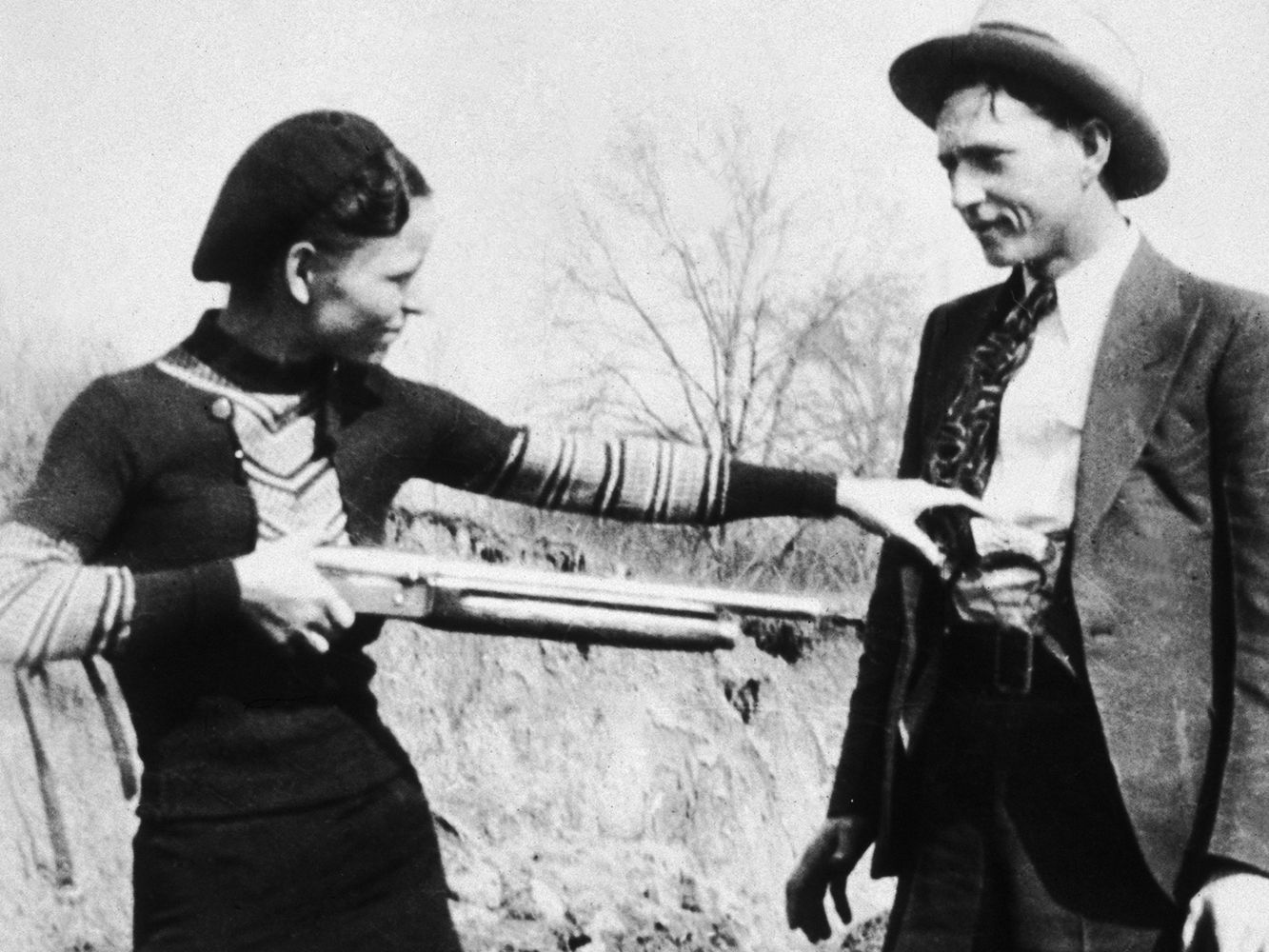 The story of bonnie and clyde poem deutsch