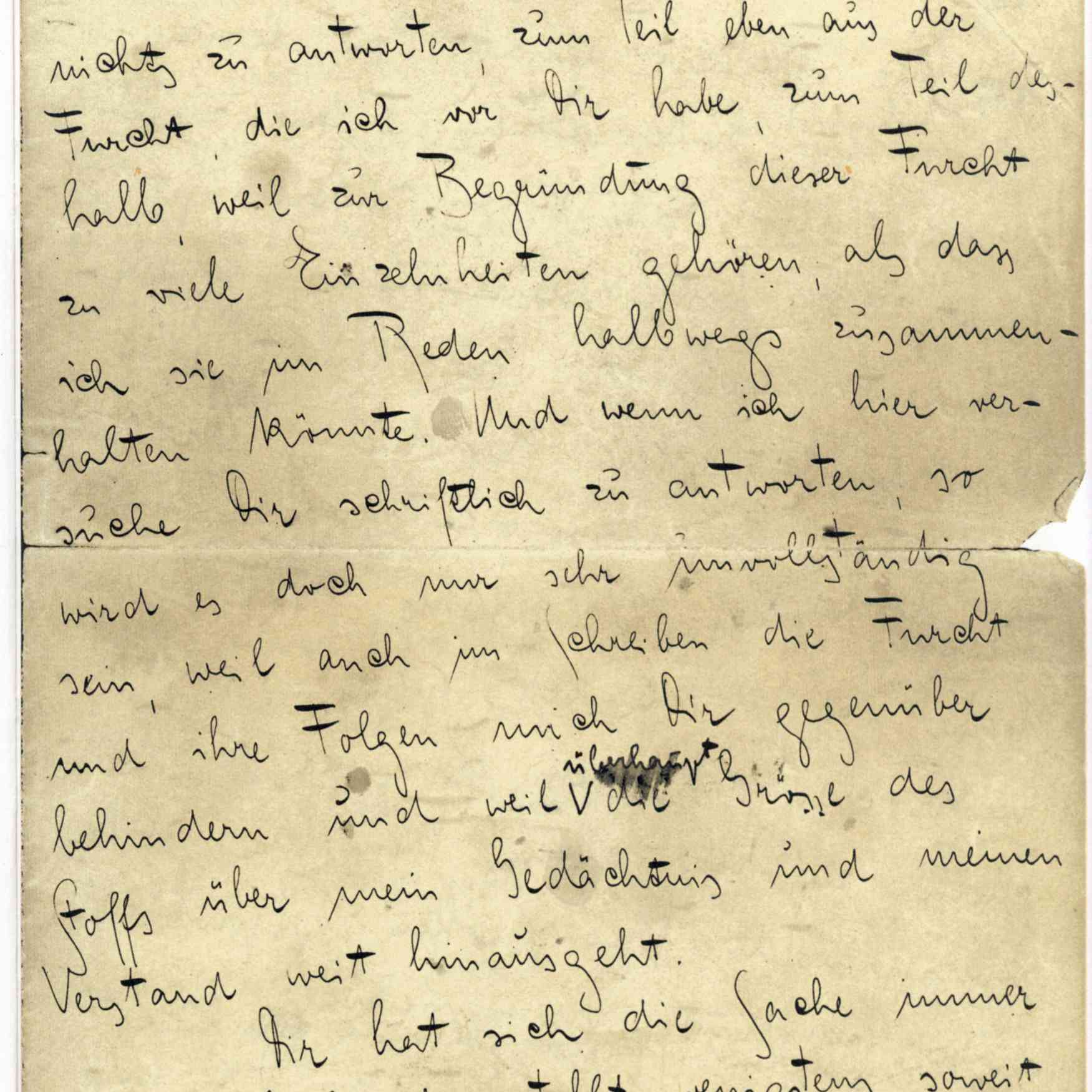 First Page of Kafka's