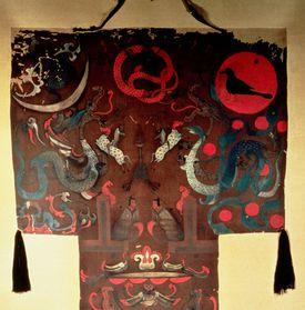 Lady Dai's Funeral Banner, Mawangdui, Han Dynasty