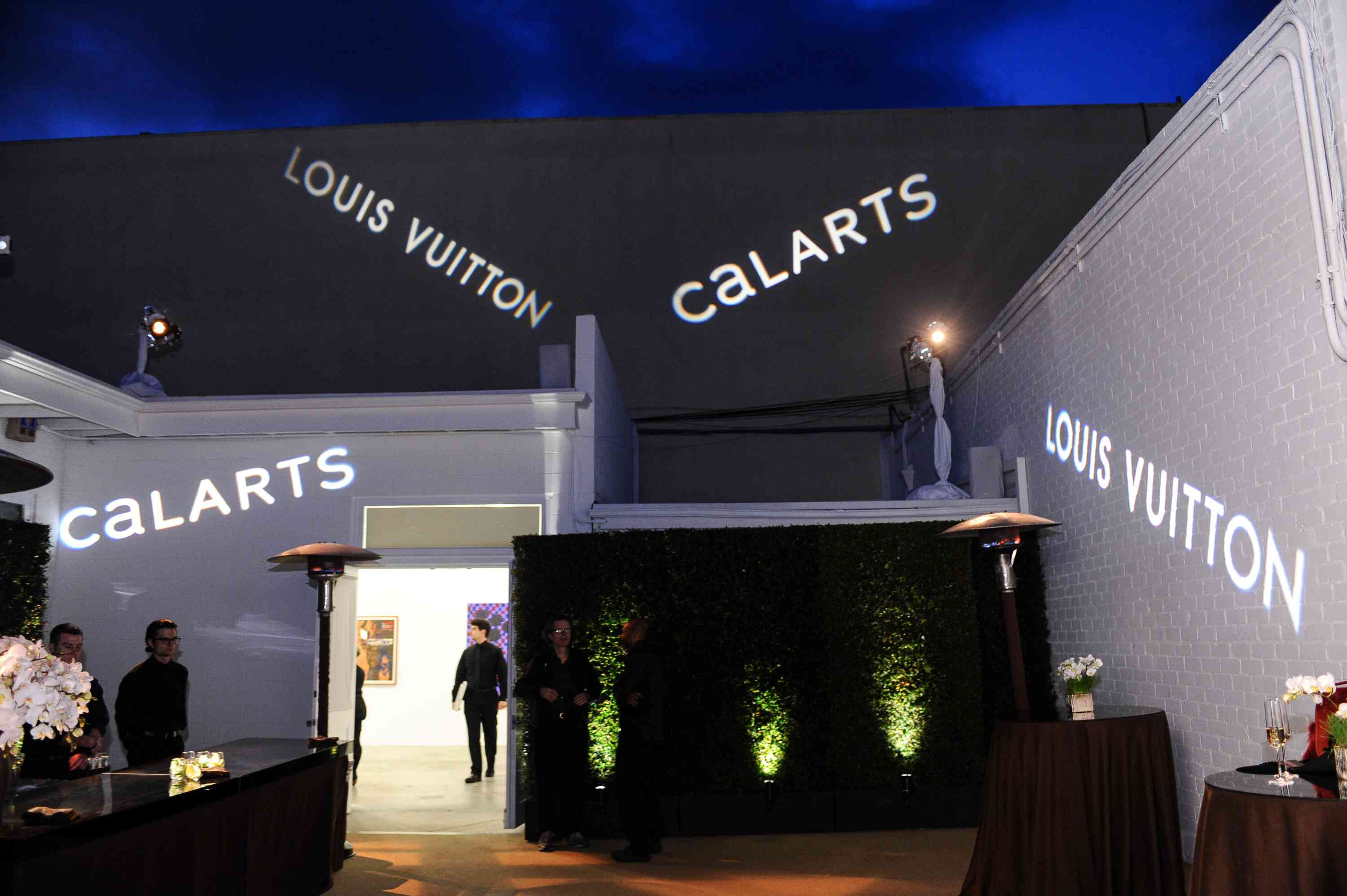 CalArts Art Benefit And Auction Los Angeles Opening Reception At Regen Projects