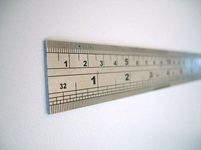 It's common to convert between inches and centimeters.