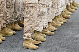 Foto reclutas de los Marines