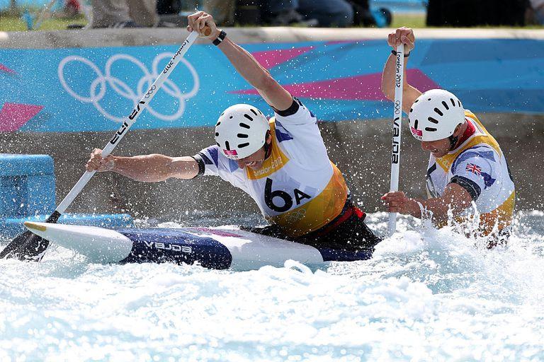 Olympic kayaking