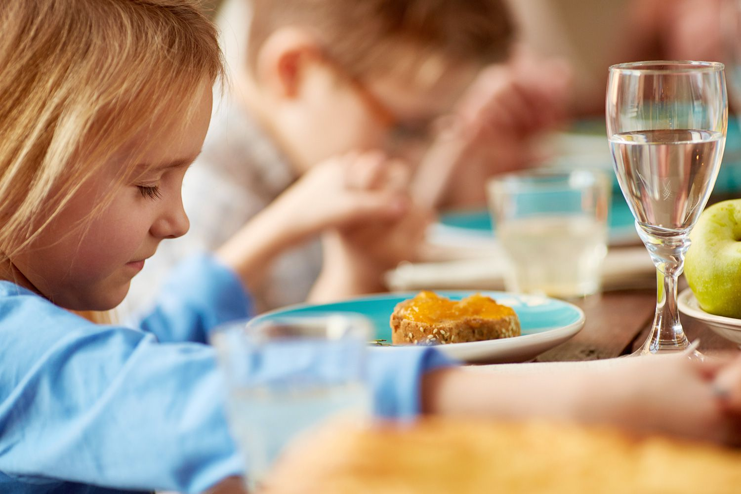 Childrens Dinner Prayers And Mealtime Blessings