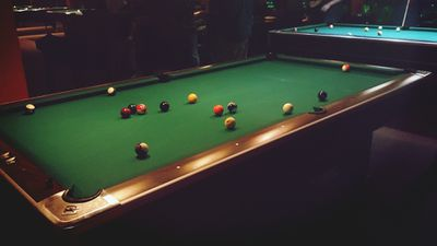 What Is A RegulationSized Pool Table - 3x6 pool table