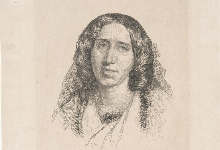 George Eliot portrait