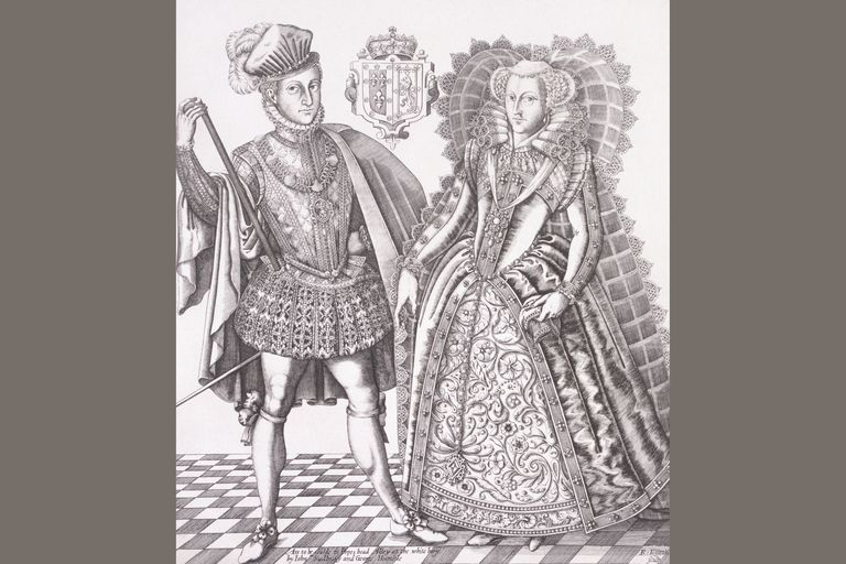 Henry Stewart, Lord Darnley, with Mary, Queen of Scots