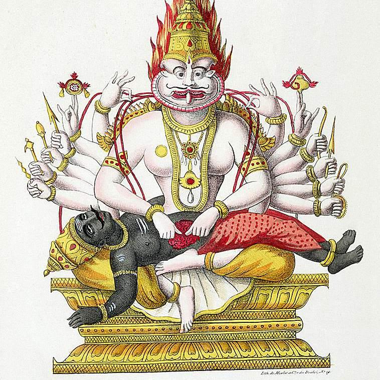 Narasimha The Man Lion Avatar Of Vishnu Corbis Getty Images