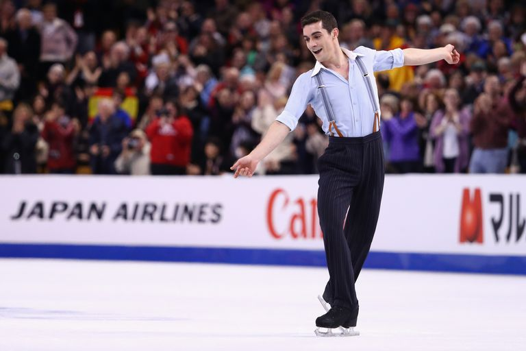 Javier Fernandez of Spain - 2016 and 2015 World Figure Skating Champion