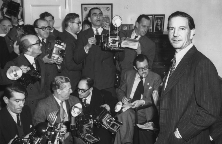 Photograph of Soviet spy Kim Philby