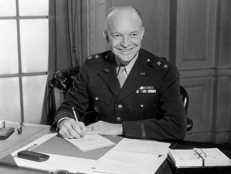 Dwight D Eisenhower Biography