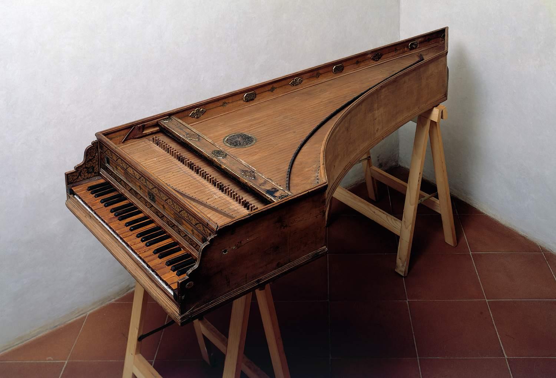 Harpsichord, 1577, 16th century