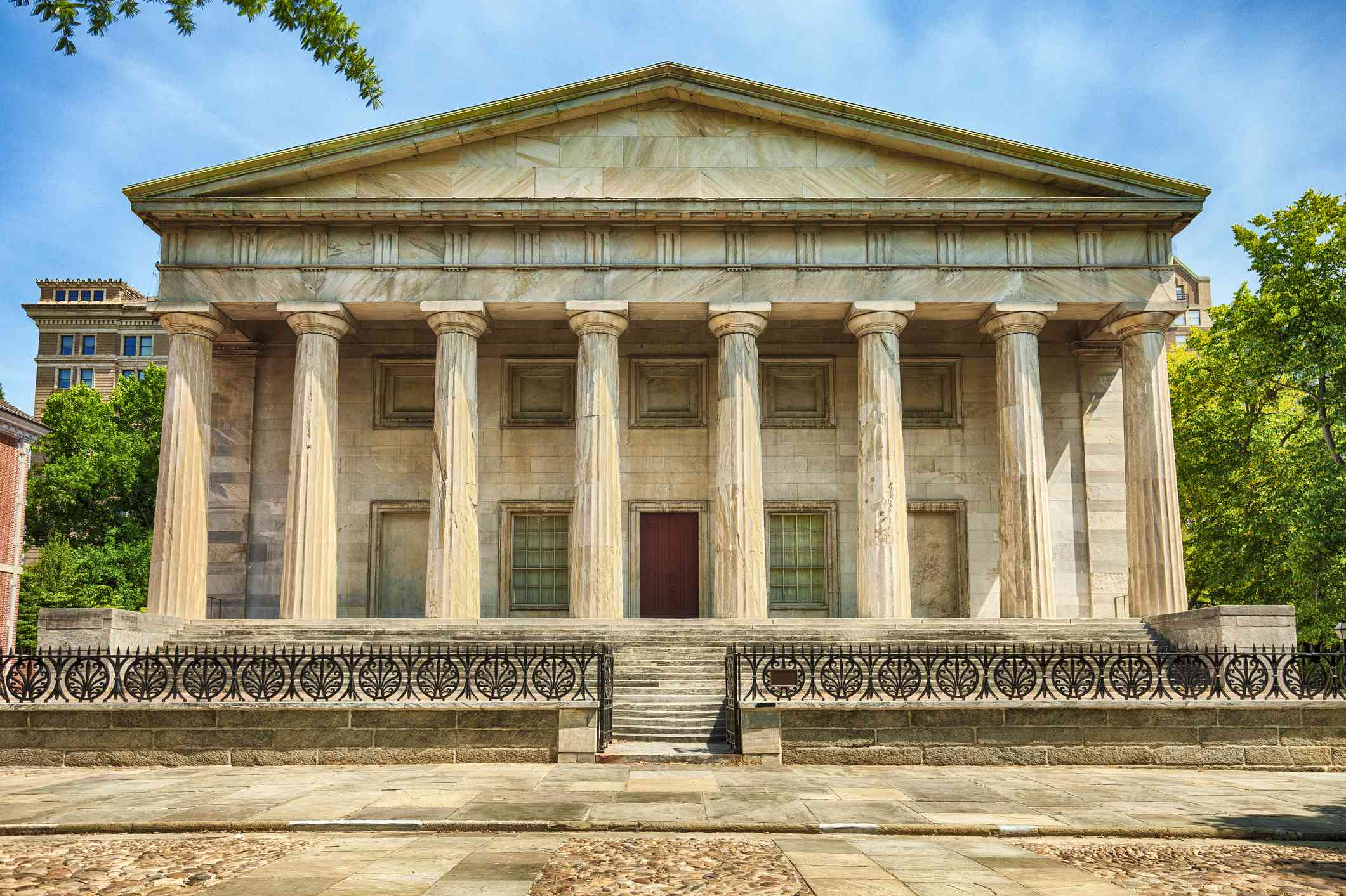 Second Bank Of The United States In Philadelphia, Pennsylvania