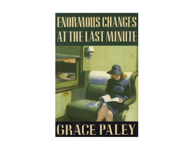 analysis of the yellow wallpaper by c perkins gilman book cover of enormous changes at the last minute by grace paley