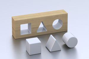 Geometric forms toy