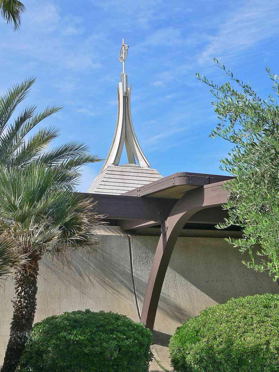 St. Theresa Catholic Church in Palm Springs, California