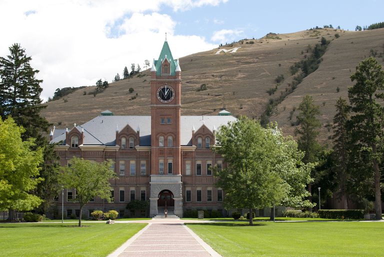 Main Hall at the University of Montana