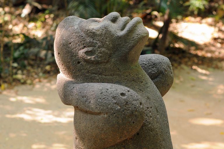 Olmec Monkey Statue from La Venta, Mexico