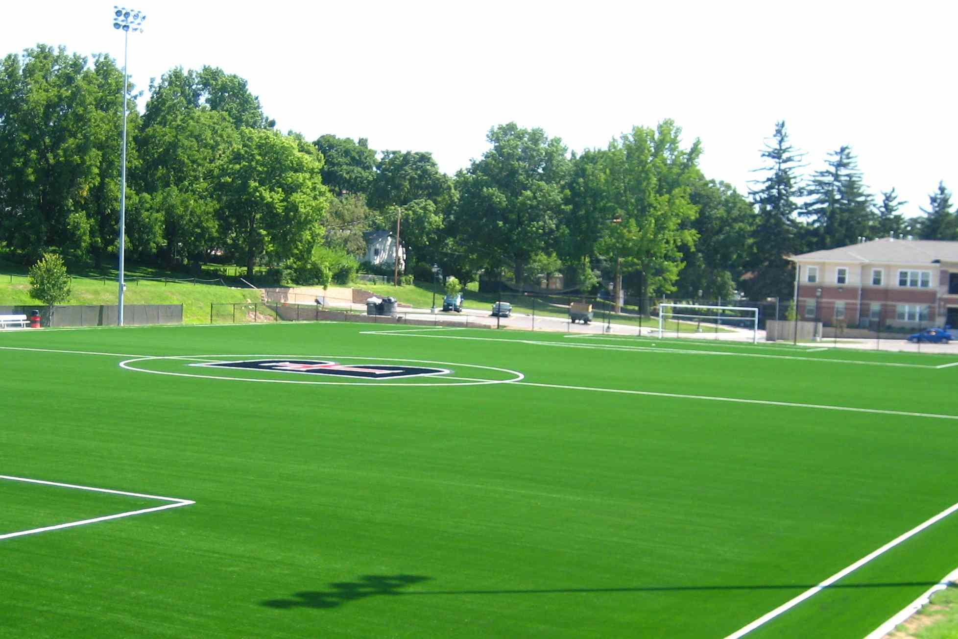 Benedictine College soccer field