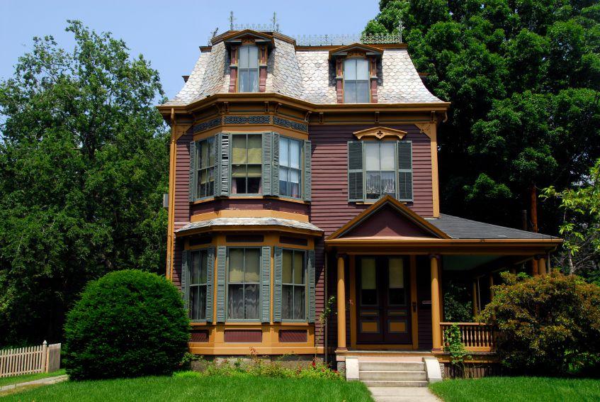 Victorian Second Empire home in Massachusetts