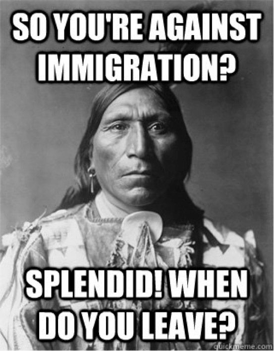 Image result for memes about immigration