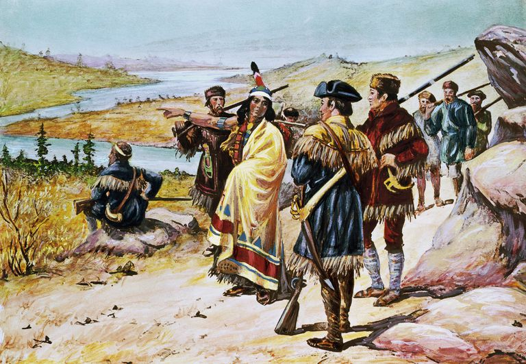 sacajawea guiding the lewis and clark expedition by alfred russell 58d02a313df78c3c4f