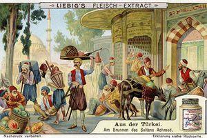 1910 image depicting Ottoman Empire