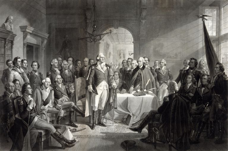 George Washington and his generals
