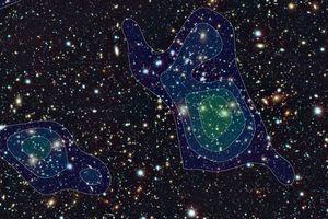 dark matter blobs