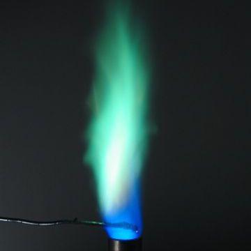 Flame Test - Copper Sulfate