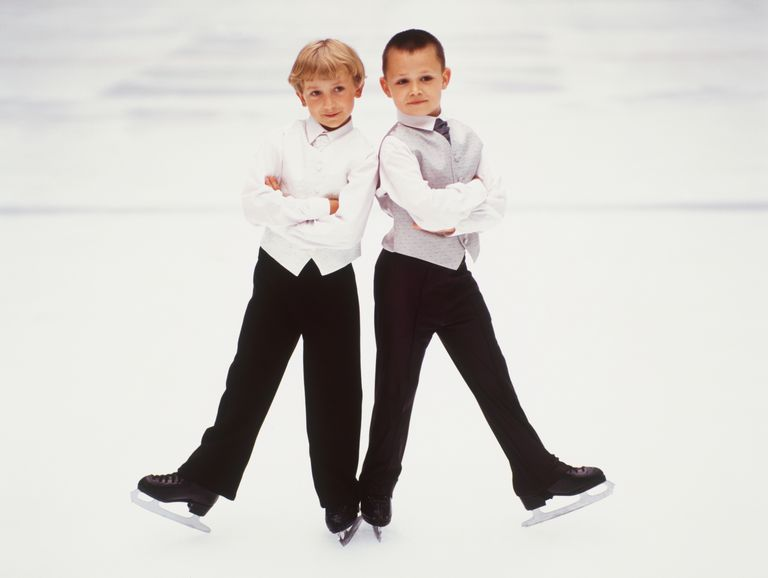 Boy Figure Skaters