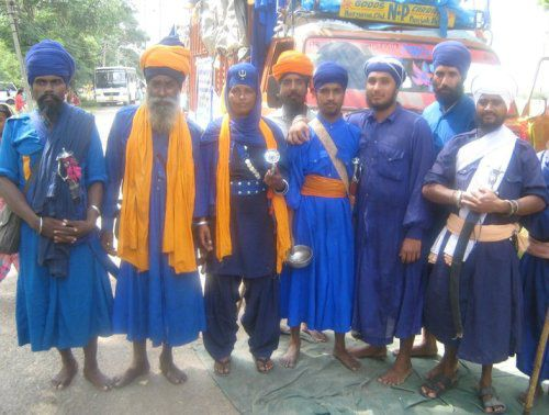 Amritdhari Members of the Khalsa Panth