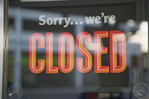 Sorry... We're Closed