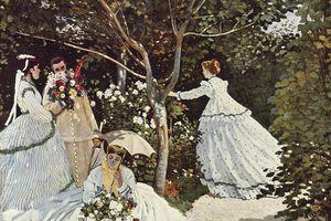Claude Monet's Women in the Garden (Femmes au jardin)