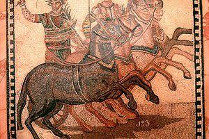 Winner of a Roman Chariot Race