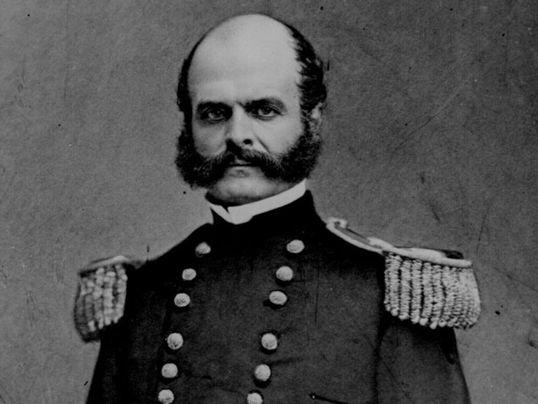 Ambrose Burnside during the Civil War