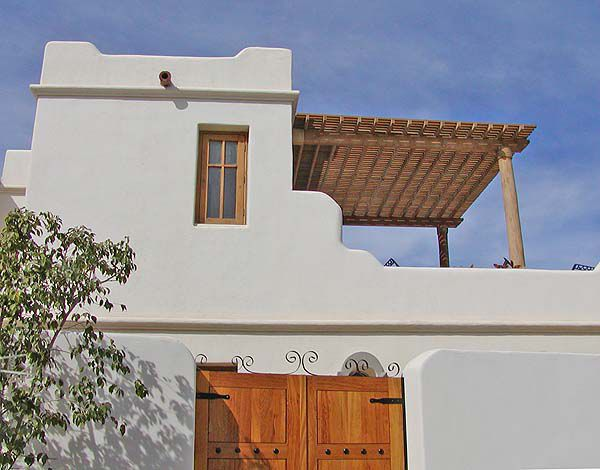 Terrace of a Loreto Bay Village Home, Mexico