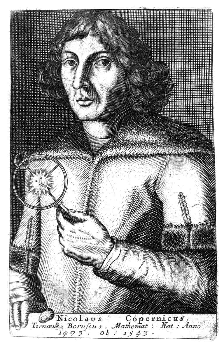 Illustration of Nicolas Copernicus.
